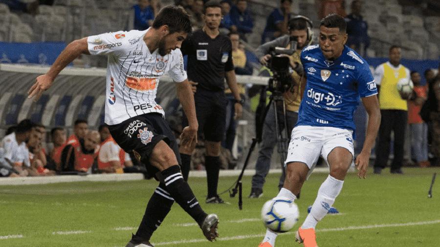 Zagueiro Bruno Méndez será utilizado em sua função de origem pela primeira vez no Corinthians - Daniel Augusto Jr./Agência Corinthians