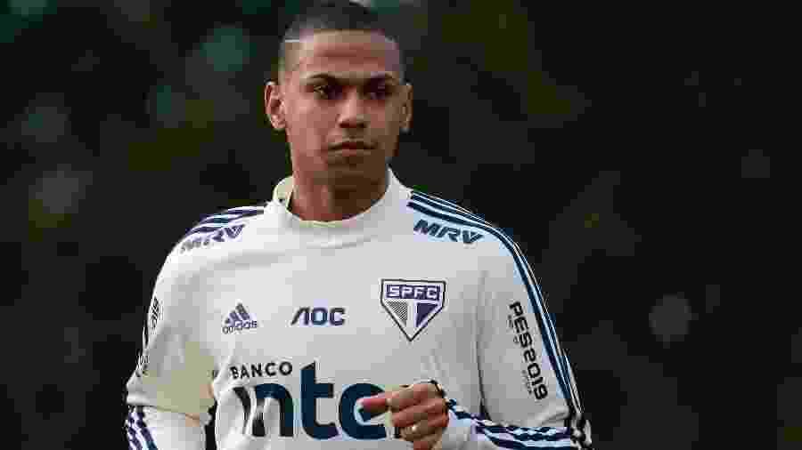 Zagueiro Bruno Alves, do São Paulo - Marcello Zambrana/AGIF