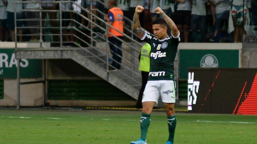 Principal jogador do Palmeiras nos últimos anos, Dudu pode ir para o futebol do Qatar - Bruno Ulivieri/AGIF