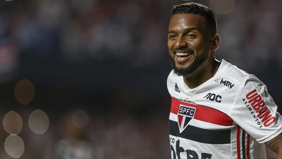 Reinaldo está suspenso para a partida  - Marcello Zambrana/AGIF