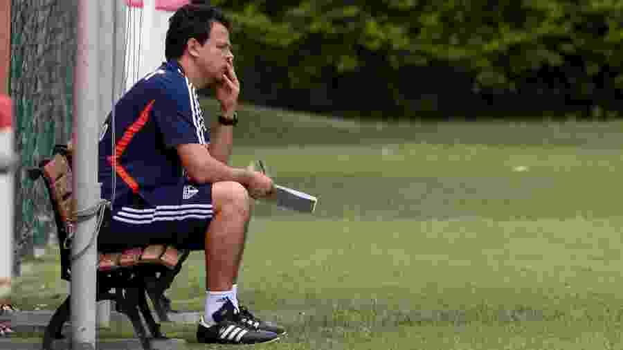 Fernando Diniz, técnico do São Paulo - Marcello Zambrana/AGIF