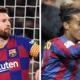 Messi x Ronaldinho: quem fez os melhores gols de falta? Assista e vote