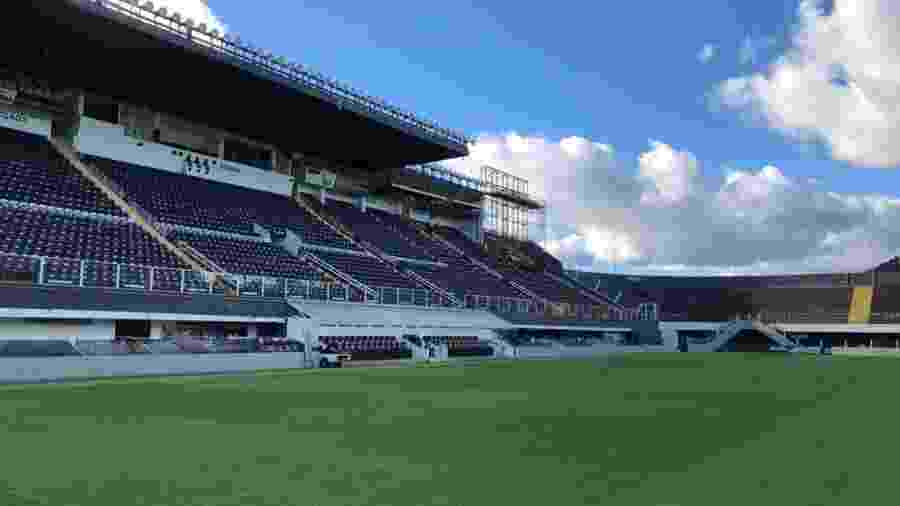 Vila Belmiro, estádio do Santos - Reprodução