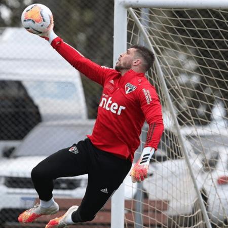 Tiago Volpi, goleiro do São Paulo - Rubens Chiri / saopaulofc.net