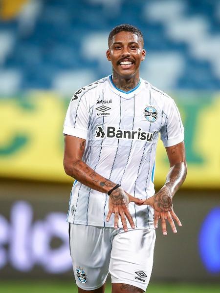 Jean Pyerre atuou no empate em 1 a 1 entre Grêmio e Atlético-MG - Lucas Uebel/Grêmio