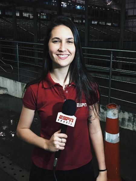Mariana Spinelli, apresentadora da ESPN - Reprodução/Instagram
