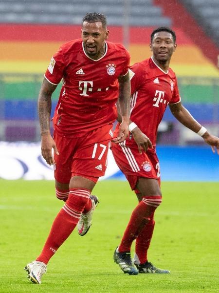 Boateng e Alaba são dois dos que fazem hoje (22) o último jogo pelo Bayern de Munique - Sven Hoppe/picture alliance via Getty Images