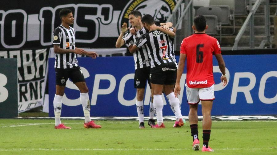 Nacho Fernández é a grande novidade do Atlético-MG para encarar o Boca na Argentina - Fernando Moreno/AGIF