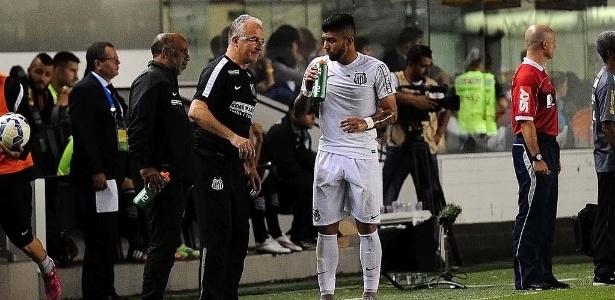 Dorival exalta o trabalho defensivo que fez com Gabriel na temporada passada - Divulgação/Santos FC