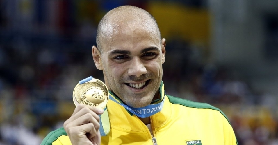 Com o 9º melhor tempo do ano e recorde pan-americano, João de Lucca levou o ouro nos 200m livre