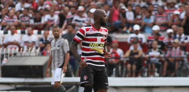 Grafite foi oferecido por empresários e pode reforçar o Santos na temporada 2017