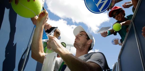 Ouro olímpico no Rio, Andy Murray perdeu por 2 sets a 0 em Cincinnati - Andy Lyons/Getty Images/AFP