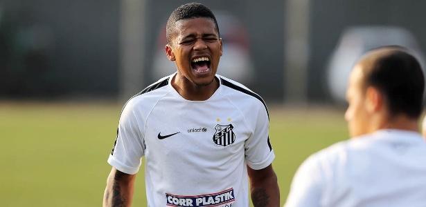 Diogo Vitor está desde novembro sem aparecer no clube da Vila Belmiro