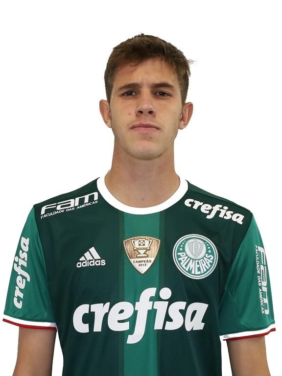 Léo Passos, atacante sub-17 do Palmeiras