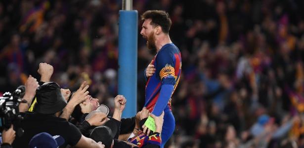 Messi falou sobre a possibilidade de conhecer o garoto
