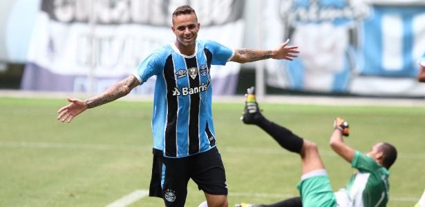 Grêmio, de Luan (foto), tem 10 pontos e mira ter melhor campanha da fase de grupos