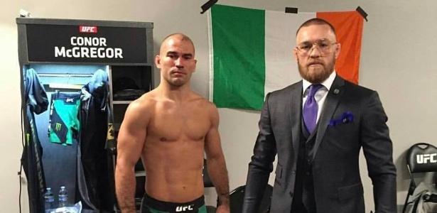 McGregor mandou mensagem de apoio ao amigo - Instagram/Reprodução