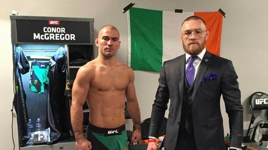 McGregoré parceiro de treinos de Artem Lobov - Instagram/Reprodução