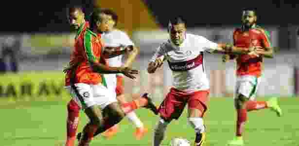 Internacional e Boa Esporte protagonizaram um jogo disputado, mas sem brilho - Ricardo Duarte/Internacional