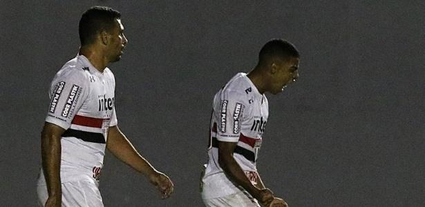 Brenner foi o autor do gol do São Paulo contra o Madureira