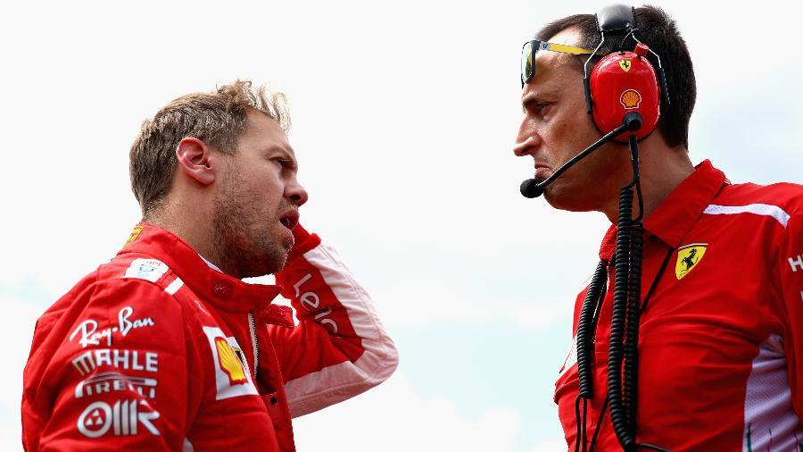 Sebastian Vettel no GP da França - Thompson/Getty Images