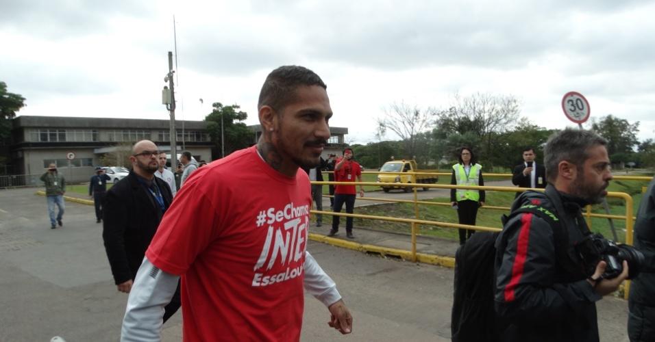 Guerrero chega ao Internacional