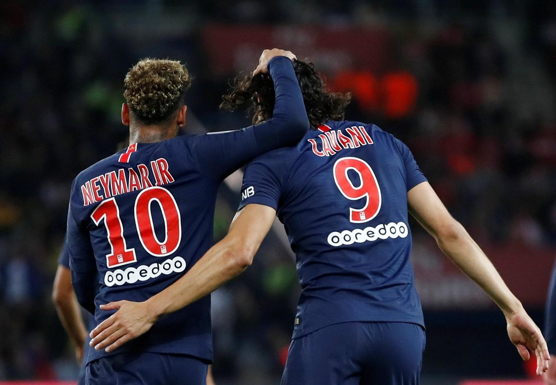 9811f77616 Neymar desequilibra e comanda virada do PSG junto com Cavani - 26 09 2018 -  UOL Esporte
