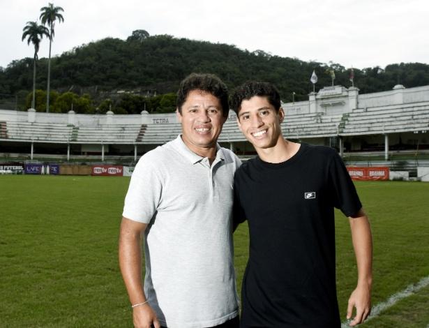 Iranildo e Yago nas Laranjeiras: amor pelo futebol de pai para filho - Mailson Santana/Fluminense