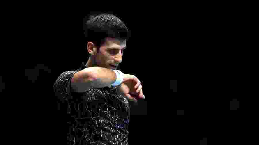 Novak Djokovic Zverev ATP Finals final Londres - Julian Finney/Getty Images