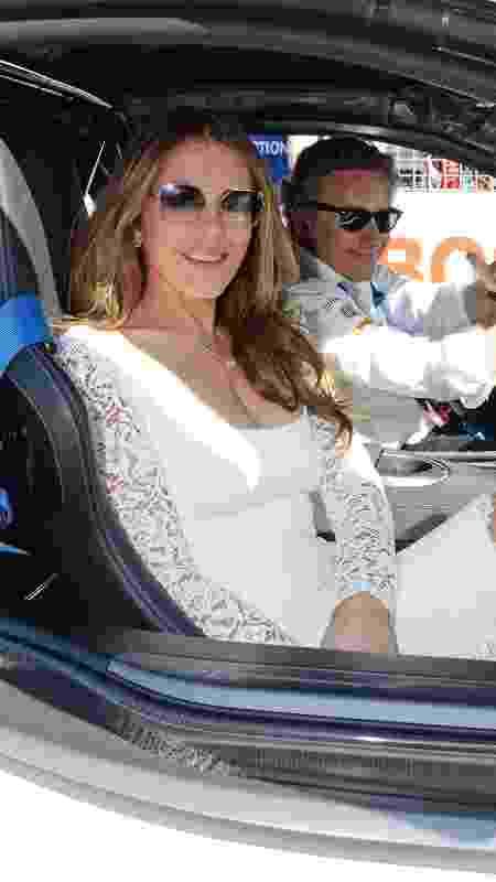 Elizabeth Hurley - Sam Bloxham/LAT Images/Fórmula E - Sam Bloxham/LAT Images/Fórmula E