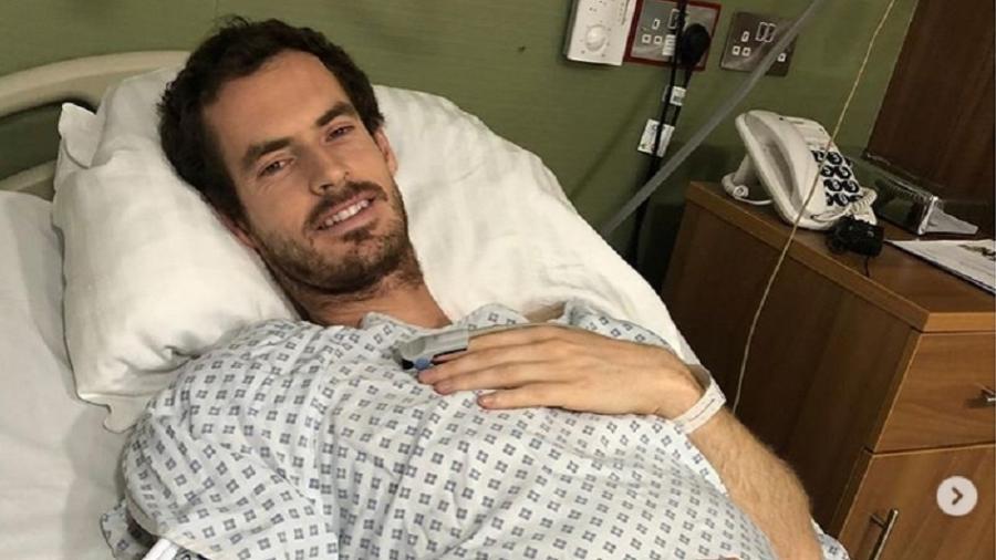 Murray se recupera de cirurgia - Reprodução/Instagram