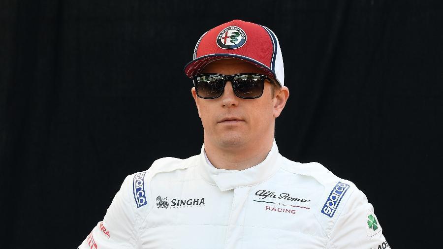 Kimi Raikkonen, atualmente na Alfa Romeo, está fazendo sua última temporada na categoria - William West/AFP
