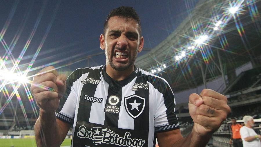 Sem Diego Souza e Alex Santana, Botafogo perde dupla de artilheiros que fez 55% dos gols da equipe - VITOR SILVA/BOTAFOGO