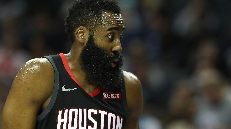 James Harden quer trocar o Houston Rockets pelo Brooklyn Nets - Streeter LECKA / GETTY IMAGES NORTH AMERICA / AFP