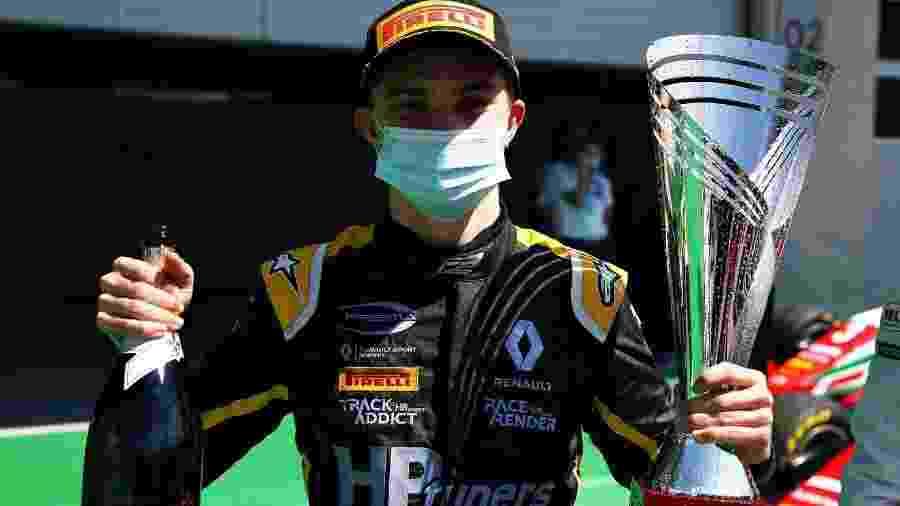 Oscar Piastri, da Prema Racing, venceu a primeira corrida da temporada da Fórmula 3 em 2020 - Divulgação/Fórmula 3