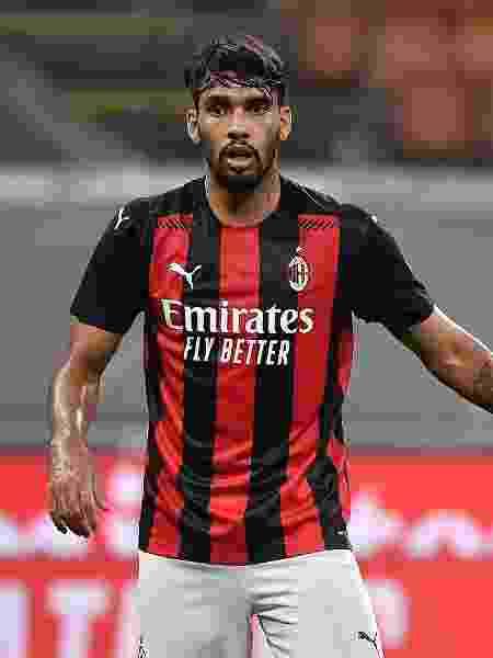 Lucas Paquetá, durante partida pelo Milan - Mattia Ozbot/Soccrates/Getty Images