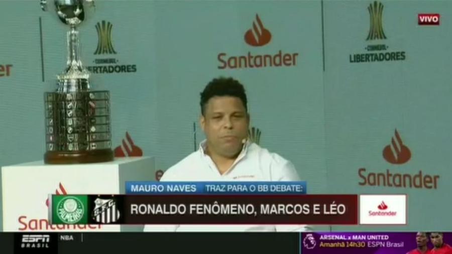 """Ronaldo Fenômeno exata Bayern, mas não descarta """"supresa"""" brasileira no Mundial - Reprodução/ESPN"""