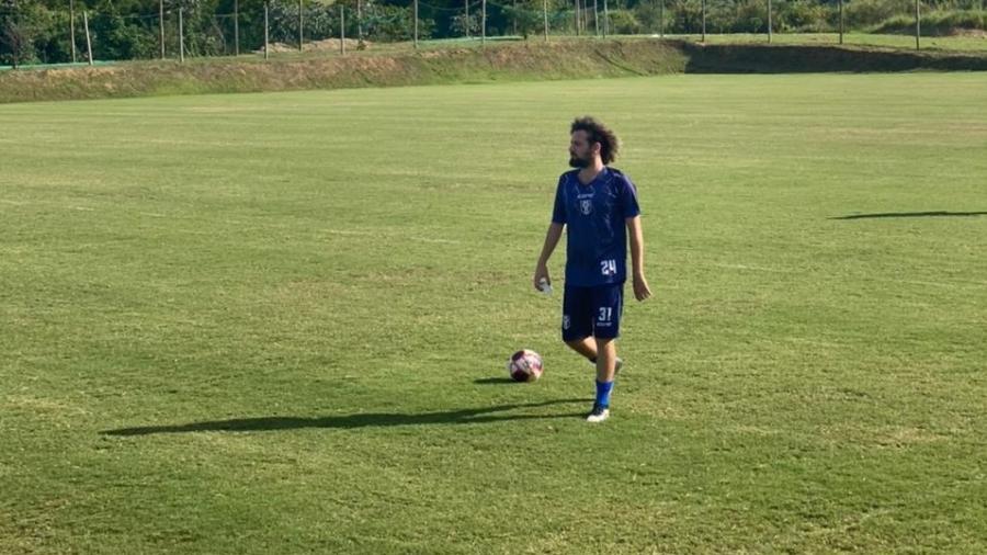 Resende fez a inscrição de Cartolouco e jogador/jornalista poderá ser relacionado contra o Flamengo - Divulgação