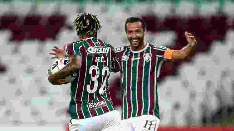 Abel Hernández e Nene combinaram para diminuir o placar, mas Fluminense não melhorou com mexidas - Lucas Mercon/Fluminense FC - Lucas Mercon/Fluminense FC