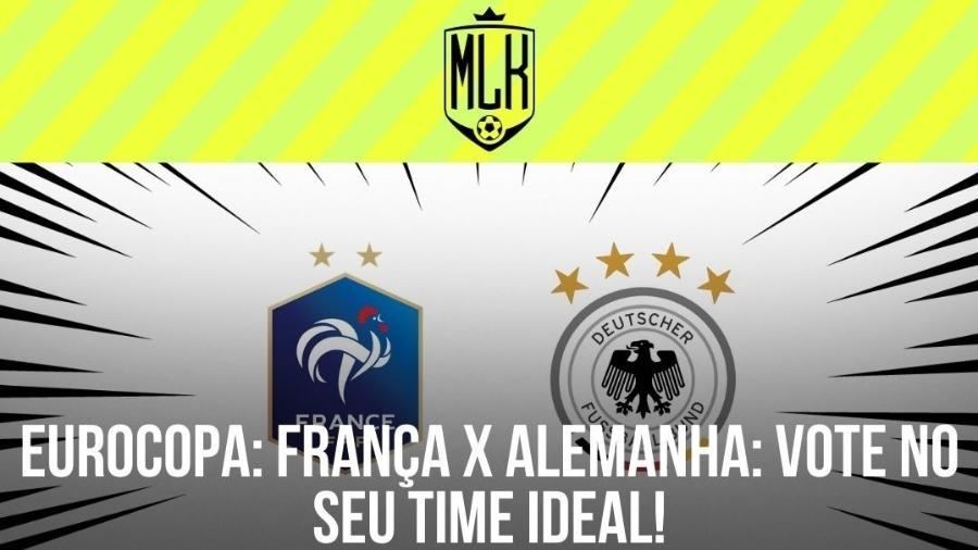 França e Alemanha estreiam na Eurocopa amanhã, em confronto do Grupo F - Arte/UOL