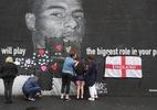 Após ofensa racial, mural de Rashford é coberto por corações - Christopher Furlong/Getty Images