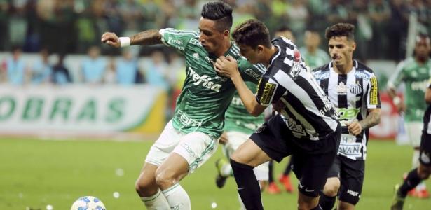 Palmeiras e Santos se enfrentaram sete vezes na temporada 2015 - REUTERS