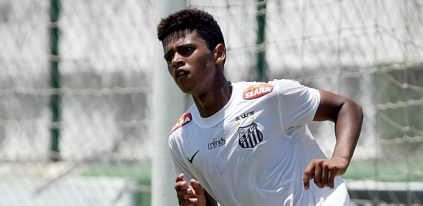 Diogo Vitor foi revelado pelas categorias de base do Santos