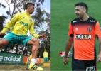 Fotomontagem/Cesar Greco/Ag Palmeiras/Divulgação e Bruno Cantini/Atlético