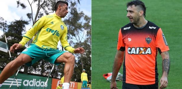 2fa68c16e9e5f Fotomontagem Cesar Greco Ag Palmeiras Divulgação e Bruno Cantini Atlético