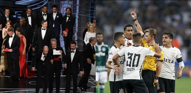 Qual erro foi pior: o do Oscar ou o do clássico Corinthians x Palmeiras?