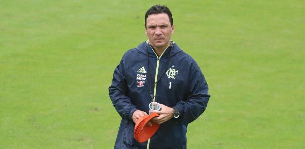 Zé Ricardo está concentrado em melhorar o rendimento do Flamengo no Brasileiro