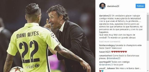 Luis Enrique se despede do Barcelona - Reprodução