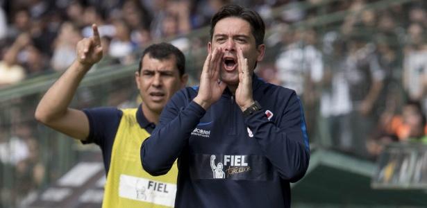 Cuca e Carille em ação pelo Corinthians: dupla acertou com o Al-Wehda, da Arábia - Daniel Augusto Jr/Agência Corinthians