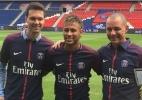 Neymar coloca até preparador físico e fisioterapeuta pessoais no PSG